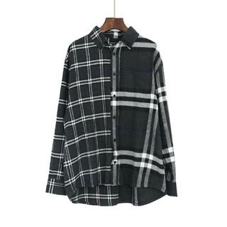バーバリー(BURBERRY)のバーバリー x GOSHA チェックシャツ 人気 美品 男女兼用(Tシャツ/カットソー(七分/長袖))