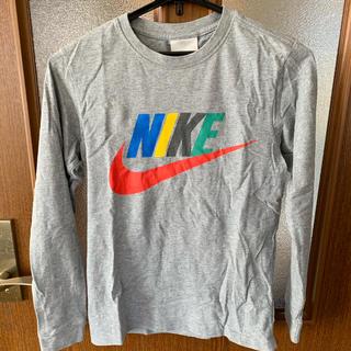 ナイキ(NIKE)のNIKE 140㎝ グレー S 長袖 cotton100%(Tシャツ/カットソー)