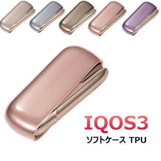 iQOS3 ソフトケース 透明 5カラー(iPhoneケース)