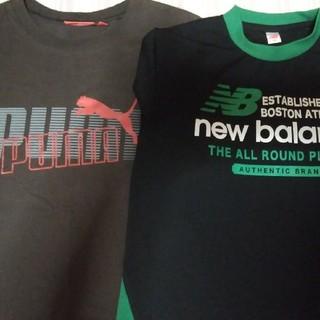 ニューバランスとPUMAのロングTシャツ(Tシャツ/カットソー)