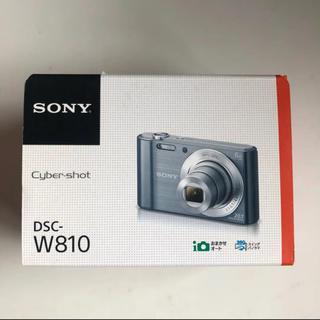 ソニー(SONY)のSONYデジカメサイバーショット   DSC-W810(コンパクトデジタルカメラ)