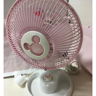 ディズニー(Disney)の扇風機 ディズニー ピンク(扇風機)
