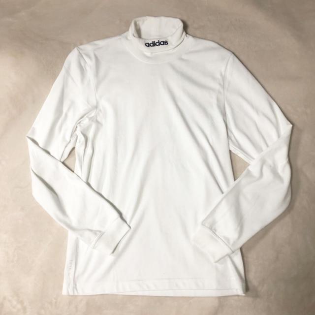 adidas(アディダス)のadidasアディダスHICOLLARLSTEEハイネックロングスリーブTシャツ レディースのトップス(Tシャツ(長袖/七分))の商品写真