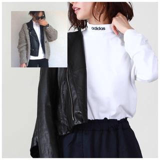 アディダス(adidas)のadidasアディダスHICOLLARLSTEEハイネックロングスリーブTシャツ(Tシャツ(長袖/七分))