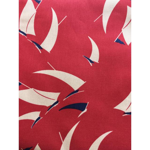 Ralph Lauren(ラルフローレン)のラルフローレン セイルボート プリント生地 ハンドメイドの素材/材料(生地/糸)の商品写真