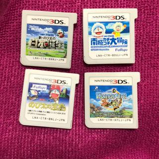 ニンテンドー3DS(ニンテンドー3DS)の3DSソフト まとめ売り ドラえもん ファンタジーライフ(携帯用ゲームソフト)