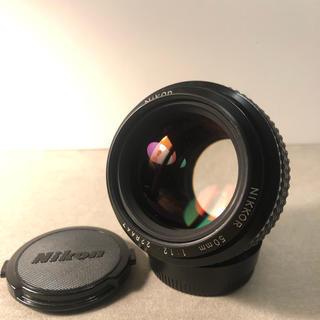 Nikon - nikkor50mm f1.2 nikon ニコン オールドレンズ