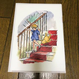 ディズニー(Disney)のクマのプーさん展◆会場販売品 クリアファイル【ピンク】(キャラクターグッズ)