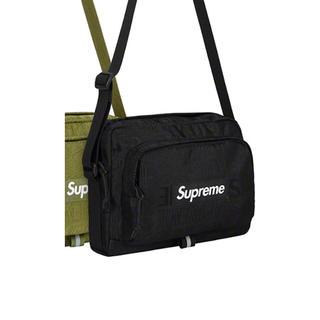 シュプリーム(Supreme)の送料込 黒 supreme19ss ショルダーバック(ショルダーバッグ)