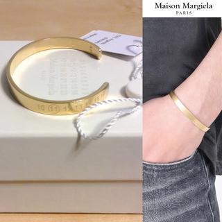 マルタンマルジェラ(Maison Martin Margiela)の新品■S■18aw展開中■マルジェラ■カレンダーナンバーブレス■金■4588(ブレスレット)