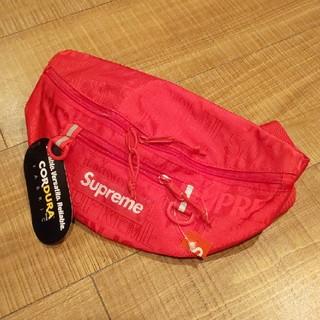 シュプリーム(Supreme)の≪国内正規 即納≫ Supreme Waist Bag Red 赤(ボディーバッグ)