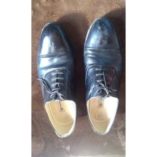 ピエールバルマン(Pierre Balmain)のピエールバルマン ストレートチップ 24.5 フランス製 ビジネスシューズ 革靴(ドレス/ビジネス)