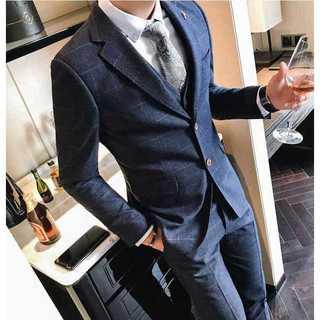 着痩せ イベント 結婚式 ホスト 紳士 セットアップ パーティー zb339(セットアップ)