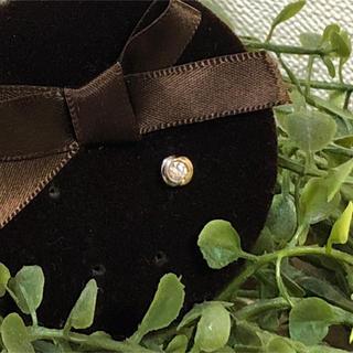 ヴァンドームアオヤマ(Vendome Aoyama)のヴァンドーム 青山 K18 ダイヤモンド ピアス 片耳 0.1ct 0.10ct(ピアス)