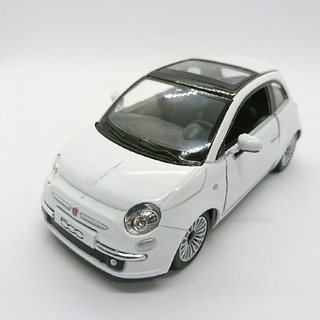 ニューフィアット 500 ホワイト(ミニカー)