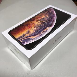 Apple - iphone xs max 256GB GOLD 未使用 SIM ロック 解除品