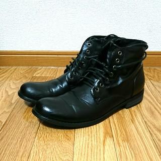 レースアップブーツ ブラック(ブーツ)