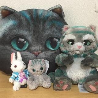 ディズニー(Disney)のアリスインワンダーランド♡不思議の国のアリス♡チェシャ猫♡白うさぎ♡新品タグ付き(キャラクターグッズ)