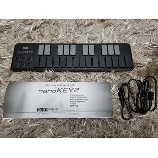 KORG nanoKEY2(MIDIコントローラー)