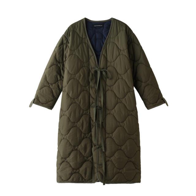 MADISONBLUE(マディソンブルー)のmadison blue キルティングコート レディースのジャケット/アウター(ロングコート)の商品写真