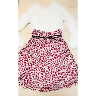 ヨンドシー(4℃)の4°Cスカート(ひざ丈スカート)
