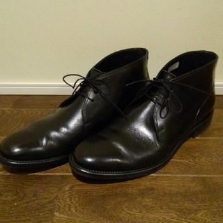 リーガル(REGAL)の美品 リーガル REGAL チャッカブーツ 黒 革靴 26㎝(ドレス/ビジネス)