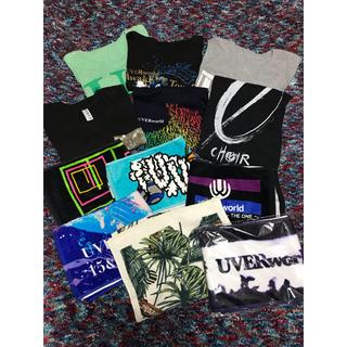 UVERworld Tシャツ タオル 12点セット(ミュージシャン)