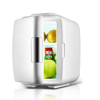 ミニ冷蔵庫 保温 保冷 アウトドア 寝室用 ホワイト