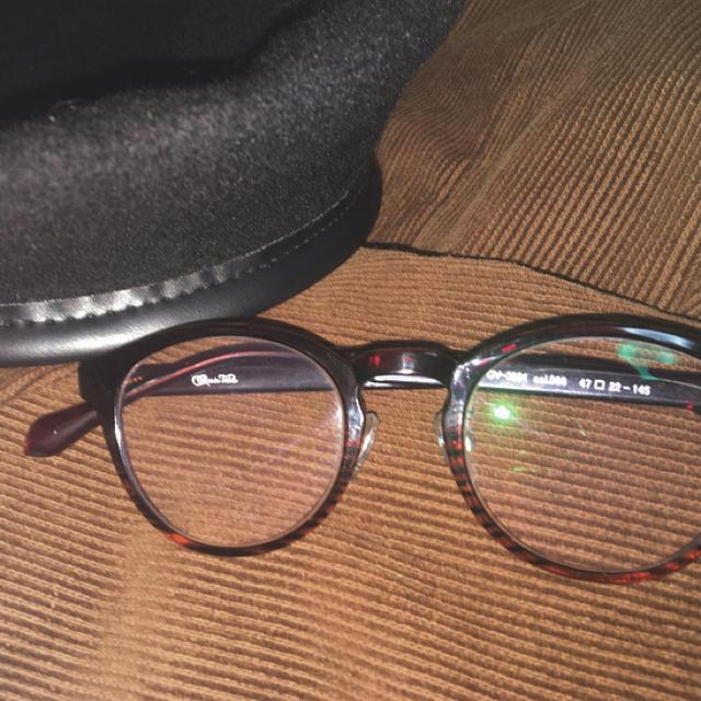 Zoff(ゾフ)のボストン型 丸眼鏡 伊達メガネ レディースのファッション小物(サングラス/メガネ)の商品写真