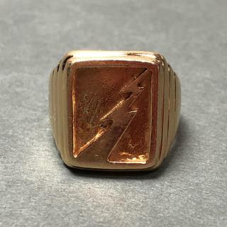 ゴローズ(goro's)のゴローズ goro's 全金 サンダーリング 9号 18k 自身購入 指輪(リング(指輪))