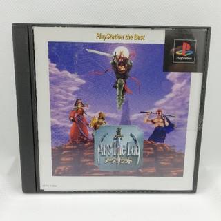 プレイステーション(PlayStation)のPS アークザラッド(家庭用ゲームソフト)