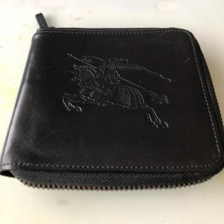 バーバリーブラックレーベル(BURBERRY BLACK LABEL)のBurberry Black label 折りたたみ財布(折り財布)