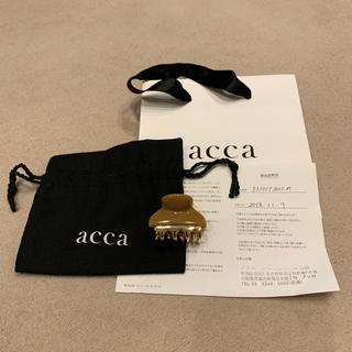 アッカ(acca)のaccaヘアクリップ(バレッタ/ヘアクリップ)