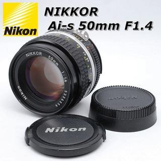 Nikon - ☆人気の単焦点☆ Nikon ニコン Ai-s NIKKOR 50mm F1.4