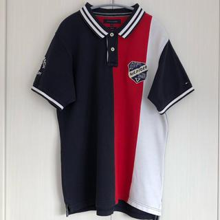 トミーヒルフィガー(TOMMY HILFIGER)のトミーヒルフィガー TOMMY HILFIGER ポロシャツ 半袖 トリコ 3L(ポロシャツ)