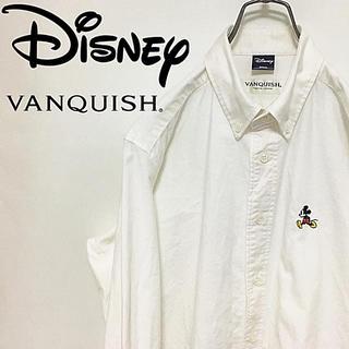 ディズニー(Disney)のディズニー Disney VANQUISH ヴァンキッシュ シャツ 刺繍(シャツ)