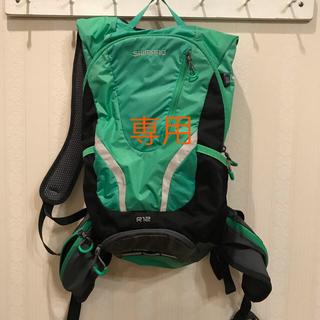 シマノ(SHIMANO)のシマノ  リュックサック R12(バッグ)