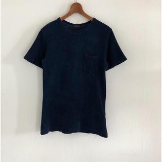 ギローバー(GUY ROVER)のパイル生地Tシャツ イタリア製 XS ギローバー(Tシャツ/カットソー(半袖/袖なし))