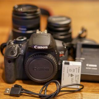 Canon - キヤノン EOS KISS X6i レンズ3本セット