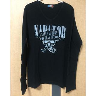 ナパトール(NAPATOR)の【NAPATOR】黒のロンT(Tシャツ(長袖/七分))