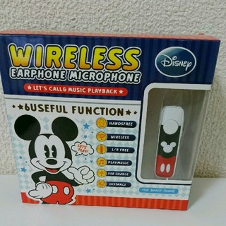 ディズニー(Disney)のワイヤレスイヤホン  片耳用(ヘッドフォン/イヤフォン)