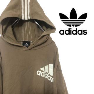 アディダス(adidas)のadidas アディダス パーカー スウェット パフォーマンスロゴ 三本線(パーカー)