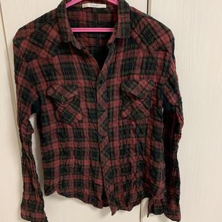 ナイン(Qnine(9))のQnine(9)チェックシャツ(シャツ)