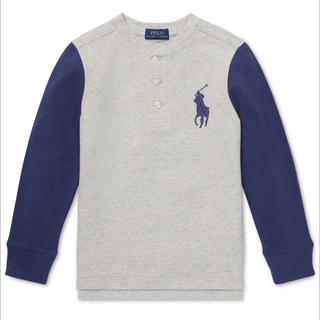 ポロラルフローレン(POLO RALPH LAUREN)の☆新品購入品☆ラルフローレンビッグポニーヘンリーシャツS/140(Tシャツ/カットソー)