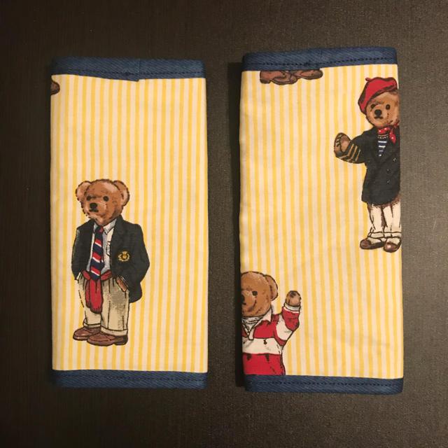 Ralph Lauren(ラルフローレン)のラルフローレン よだれカバー ハンドメイド ハンドメイドのキッズ/ベビー(外出用品)の商品写真
