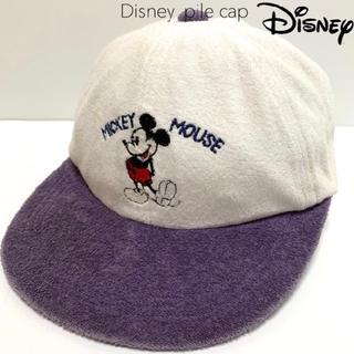 ディズニー(Disney)の#4313 90s Disney ディズニー パイル キャップ cap 帽子(キャップ)