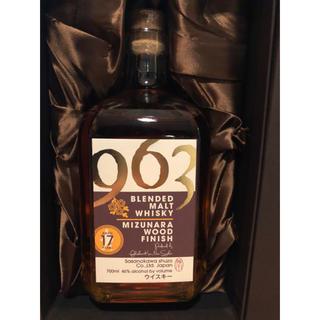 サントリー - ブレンデッドモルト 963 17年 ミズナラ ウッドフィニッシュ 笹の川酒造
