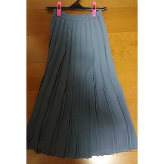 ユニクロ(UNIQLO)のユニクロ プリーツスカート XS(ロングスカート)
