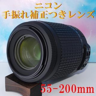 Nikon - ★望遠レンズ☆Nikon AF-S DX 55-200mm 手振れ補正つき♪