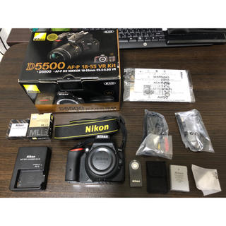 Nikon - 即日発送 超美品一眼レフNikon D5500ボディ 付属品一式 純正おまけ付き